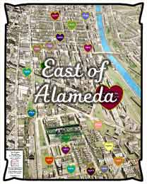 East of Alameda Map & Timeline