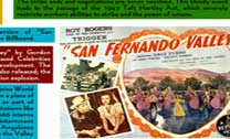 Timeline of the San Fernando Valley